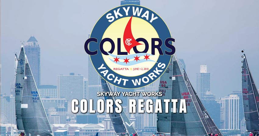 Skyway Yacht Works 2019 Colors Regatta